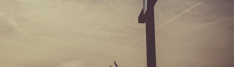 Oración ante la cruz del calvario