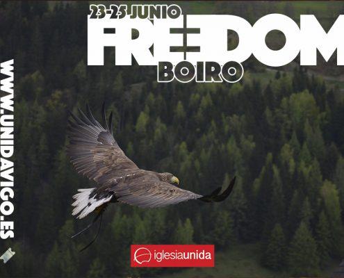 FREEDOM - retiro de jovenes en Boiro